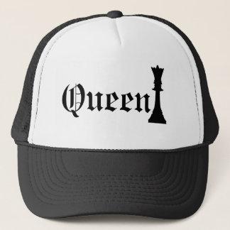Reina del ajedrez gorra de camionero