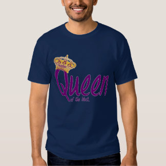 Reina del bloque camiseta