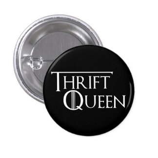 Reina del botón de Thrifting
