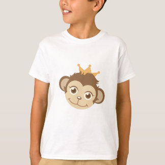 Reina del mono camiseta