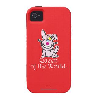 Reina del mundo Case-Mate iPhone 4 carcasa