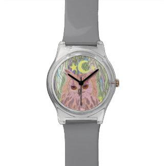Reina del reloj femenino del búho May28th de la