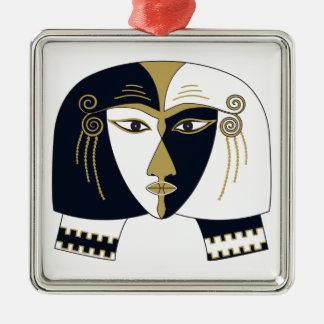 Reina egipcia adorno de cerámica