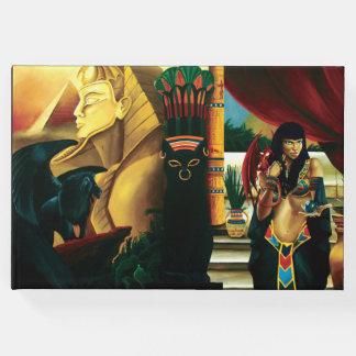Reina egipcia libro de visitas