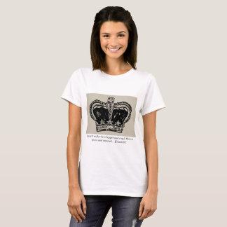 Reina Elizabeth junto con te cita Camiseta