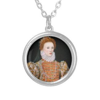 Reina Elizabeth - Necklance Collar Plateado