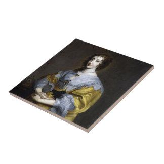 Reina Henrietta Maria Azulejo