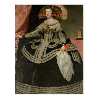 Reina Maria Ana de Austria, C. 1652 Postal