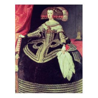 Reina Mariana de Austria c.1653 Postal