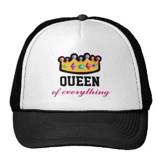 Reina todo gorra del camionero de la corona