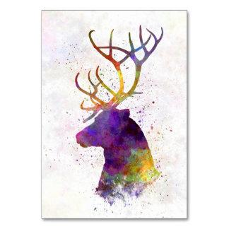 Reindeer 01 in watercolor