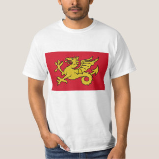 Reino de la bandera de Wessex de Inglaterra Camiseta
