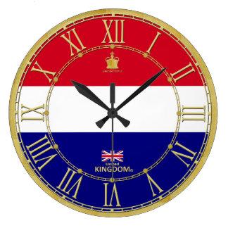 Reino Unido colorea el regalo moderno del reloj de