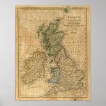 Reino Unido de Inglaterra, de Escocia y de Irlanda Poster