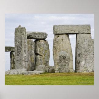 Reino Unido, Stonehenge 12 Póster