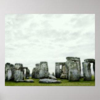 Reino Unido, Stonehenge 14 Póster