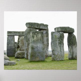 Reino Unido, Stonehenge 9 Póster