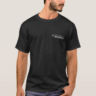 Reinos de la ciudadela - logotipo - negro camiseta
