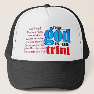 Relaje a dios es ah el gorra de Trini (editable)