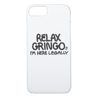 ¡Relaje al Gringo!! Llame por teléfono al caso Funda iPhone 7