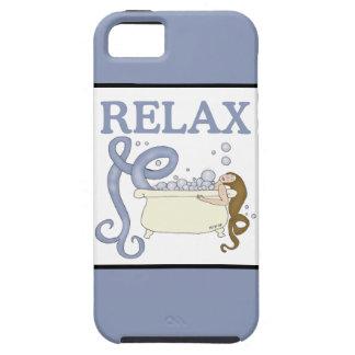 Relaje la sirena funda para iPhone SE/5/5s