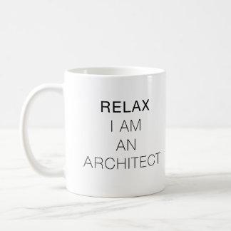 Relájeme son un arquitecto taza de café