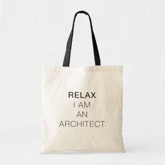Relájeme son un bolso del arquitecto
