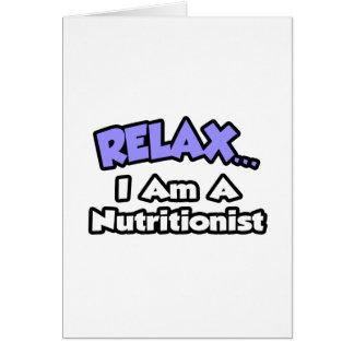 Relájeme… son un nutricionista felicitaciones