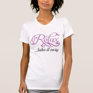 Relájese le toman chicas florales fáciles de los camiseta