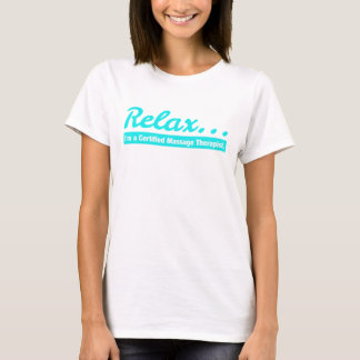 Relájese… Soy una camiseta de CMT