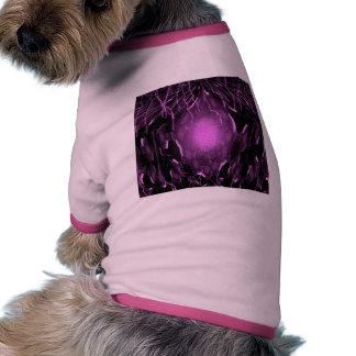 Relámpago de la energía de Pentágono Camiseta De Perro