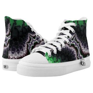 Relámpago del fractal en mis zapatos