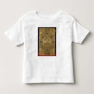 Relicario evangélico, escuela de Moscú Camiseta De Bebé