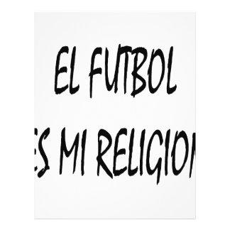 Religión del EL Futbol Es MI Tarjetón