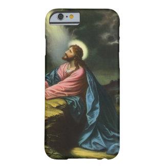 Religión del vintage, Jesucristo que ruega, Funda De iPhone 6 Barely There