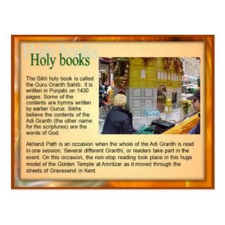 Religión, libros sagrados sikh, Guru Adi Granth Postal