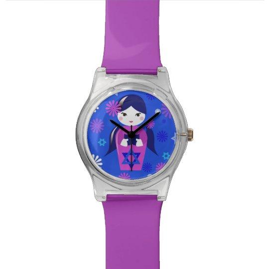 Religioso-Chica judío del regalo Reloj De Pulsera
