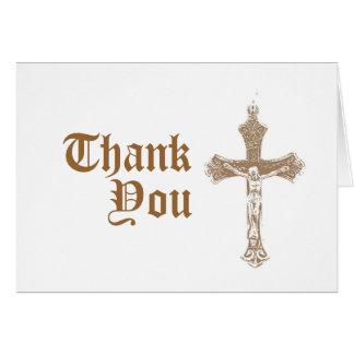 Religioso gracias cardar felicitaciones