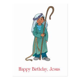 RELIGIOSO: Pastor de Jesús del feliz cumpleaños Postal