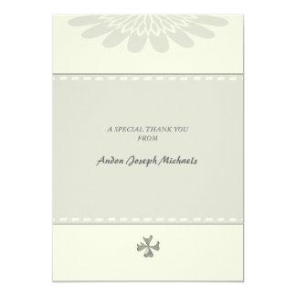 Religiosos bendecida agradecen le/Notecard Invitación 12,7 X 17,8 Cm