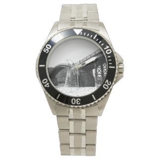 Reloj モノクロ写真腕時計メンズ vol002