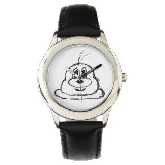 reloj 1 del acero inoxidable del 鲍鲍
