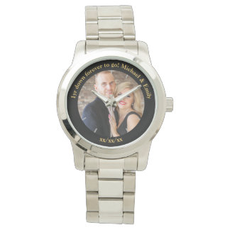 Reloj 1r Personalizado inusual único del aniversario de