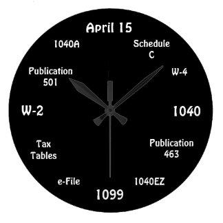 Reloj adaptable del contable - reloj de tiempo del