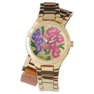 Reloj alegre 2015 de la pulsera de las señoras del