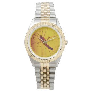 Reloj ambarino polaco de la avispa