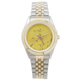 Reloj ambarino polaco de la libélula