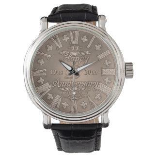 Reloj Aniversario de Vinate cualquier cobre del año