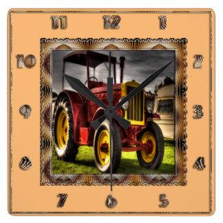 Reloj antiguo del tractor