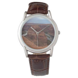 Reloj ARIZONA - curva de herradura AB - roca roja